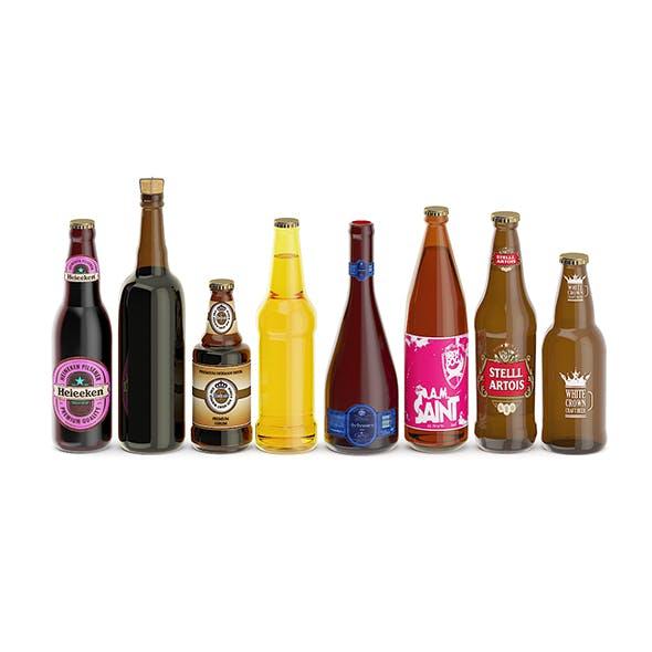 Beer Bottles - 3DOcean Item for Sale