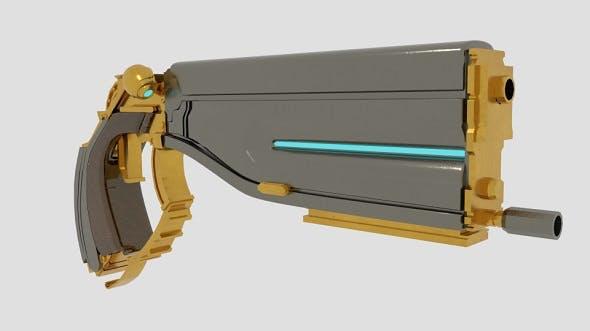 Lato Prime Pistol - 3DOcean Item for Sale