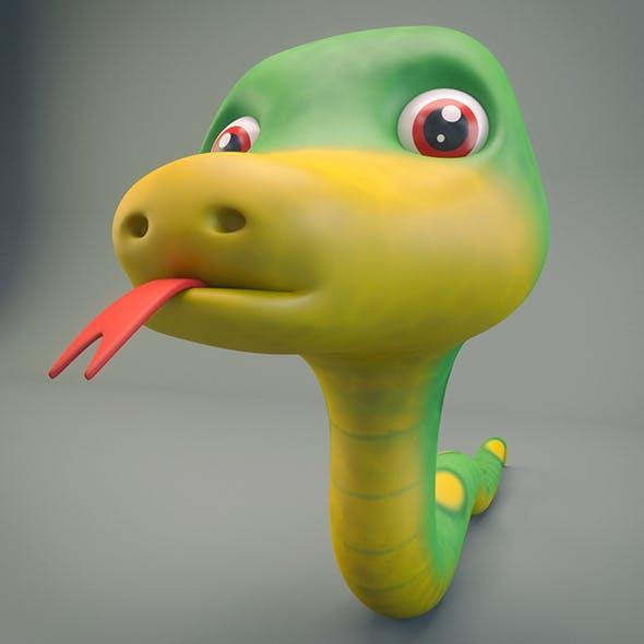 Cartoon Snake - 3DOcean Item for Sale
