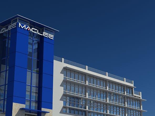 Maclee Building - 3DOcean Item for Sale