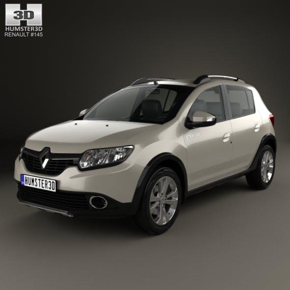 Renault Sandero Stepway 2014 - 3DOcean Item for Sale