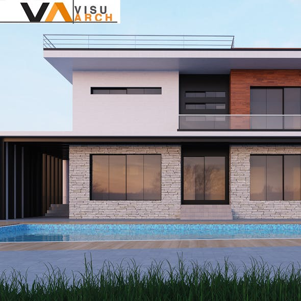 Modern Villa - 3DOcean Item for Sale