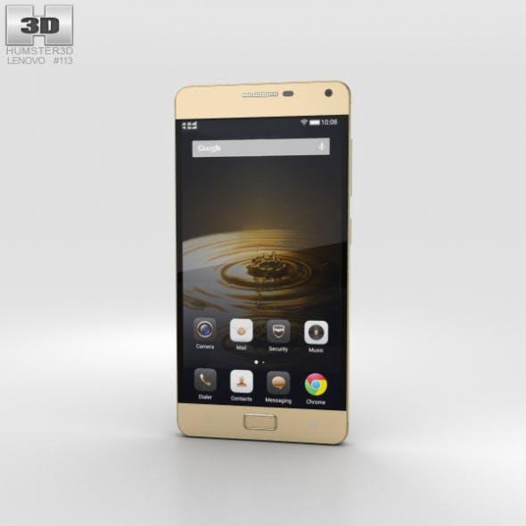 Lenovo Vibe P1 Gold - 3DOcean Item for Sale