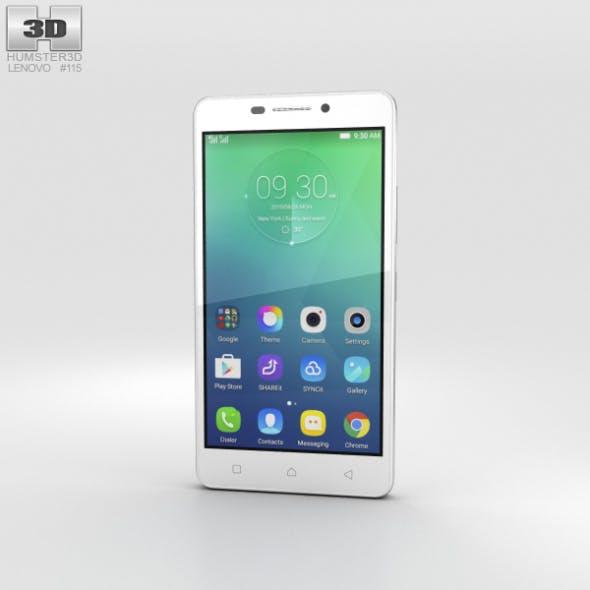 Lenovo Vibe P1m Pearl White - 3DOcean Item for Sale