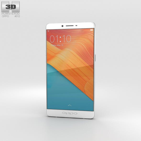 Oppo R7 Plus Silver - 3DOcean Item for Sale