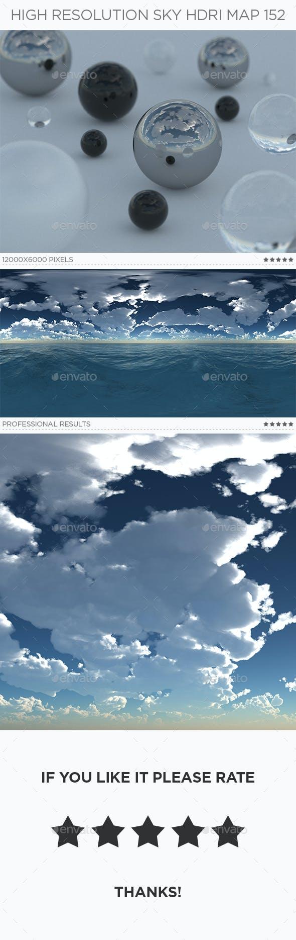 High Resolution Sky HDRi Map 152 - 3DOcean Item for Sale
