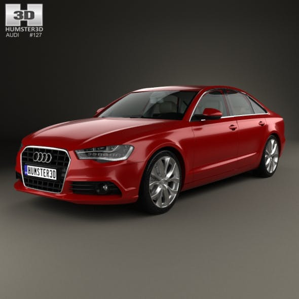 Audi A6 (C7) with HQ interior 2012 - 3DOcean Item for Sale