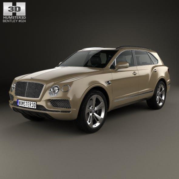 Bentley Bentayga 2016 - 3DOcean Item for Sale