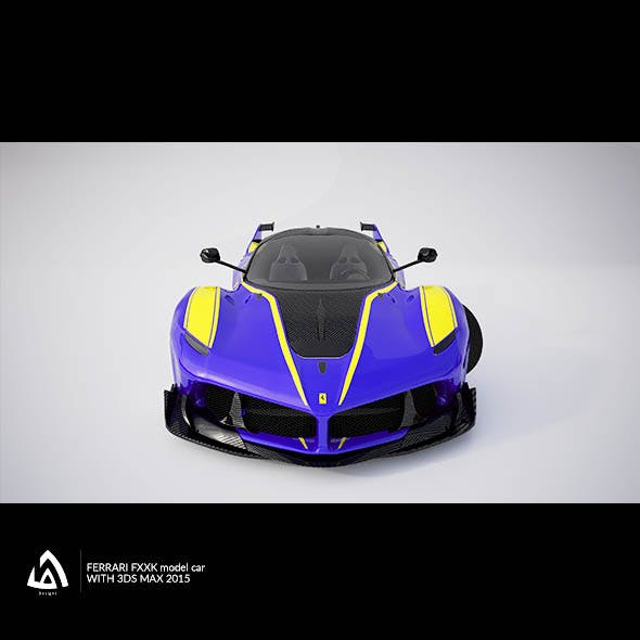 Ferrari FXXK - 3DOcean Item for Sale