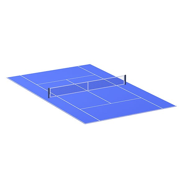 Tennis Court - 3DOcean Item for Sale