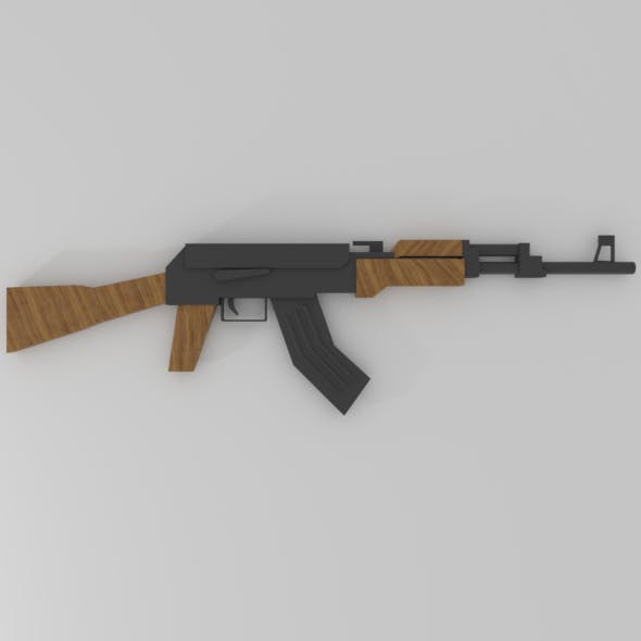 Low-Poly AK-47