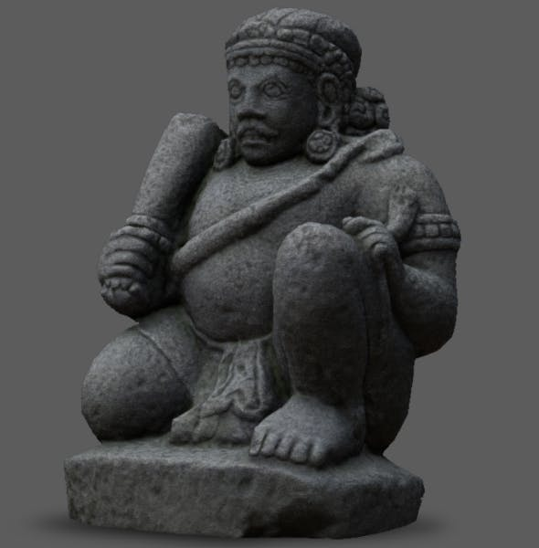 Dvarapala Statue - 3DOcean Item for Sale