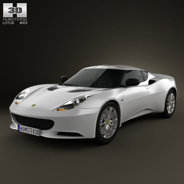 Lotus Evora S 2011 - 3DOcean Item for Sale