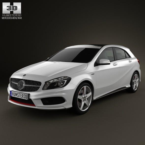 Mercedes-Benz A-class 2013 - 3DOcean Item for Sale