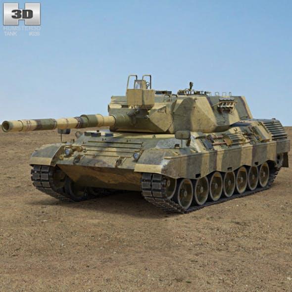 Leopard 1 - 3DOcean Item for Sale