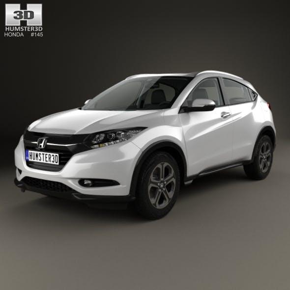 Honda HR-V EX-L with HQ interior 2015 - 3DOcean Item for Sale