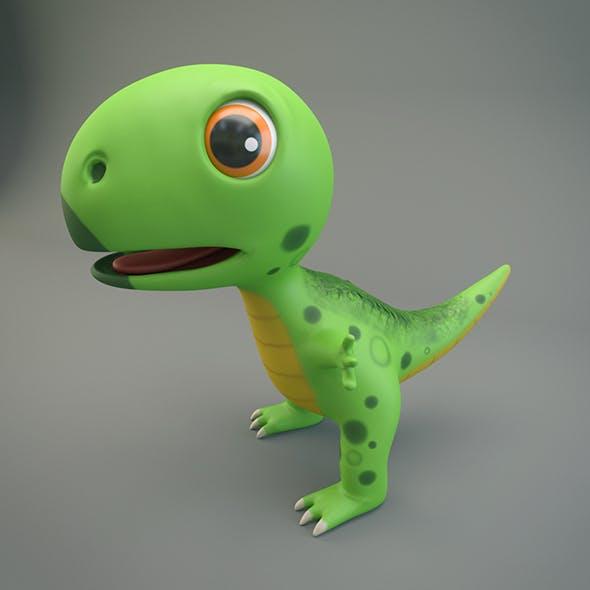 Cartoon Dinosaur - 3DOcean Item for Sale