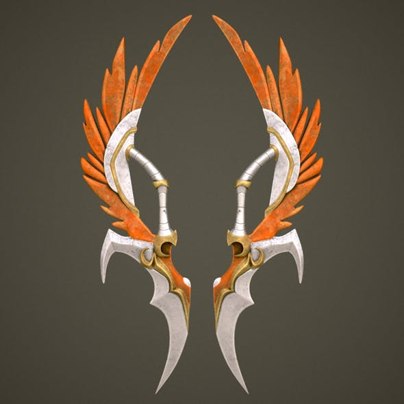 Fantasy sword_10 - 3DOcean Item for Sale