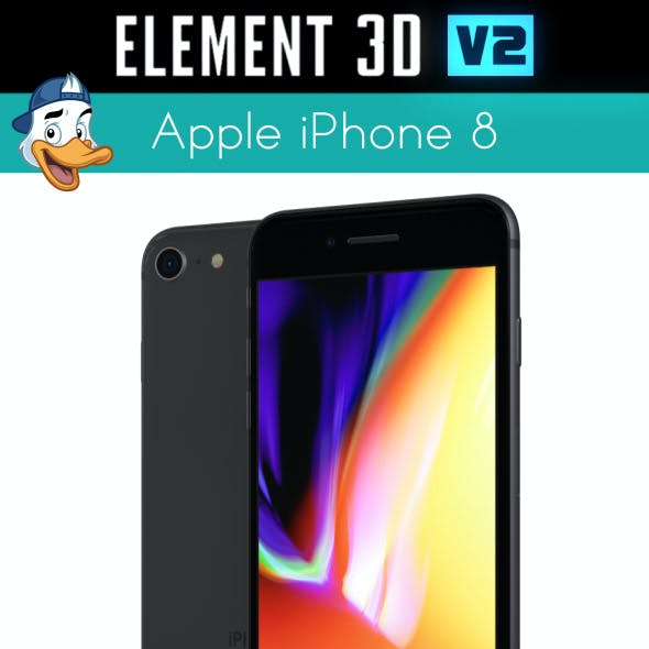 Apple iPhone 8 for Element 3D