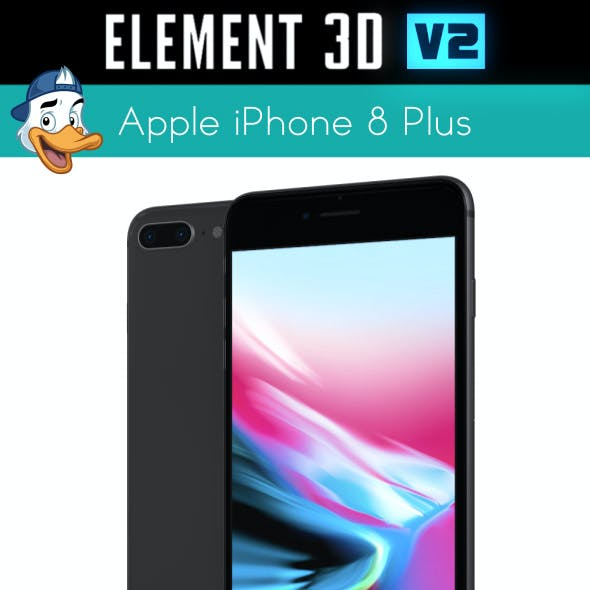 Apple iPhone 8 Plus for Element 3D