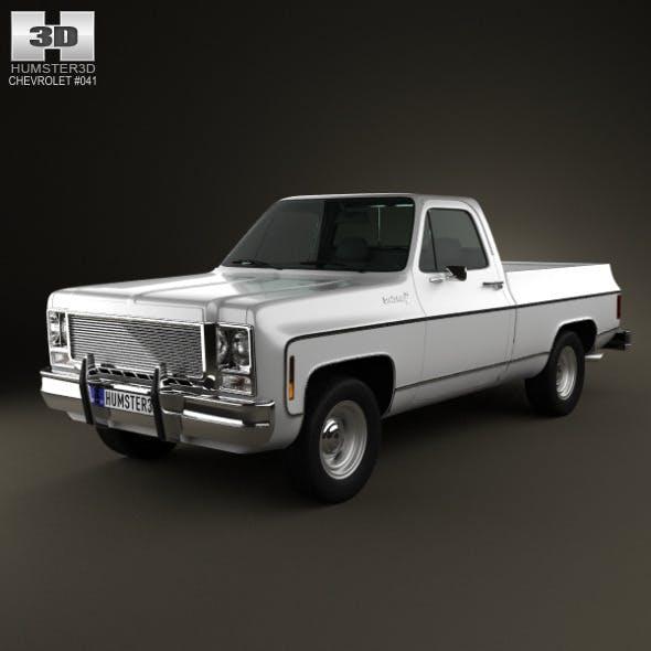 Chevrolet C/K Scottsdale SingleCab StandartBed 197 - 3DOcean Item for Sale