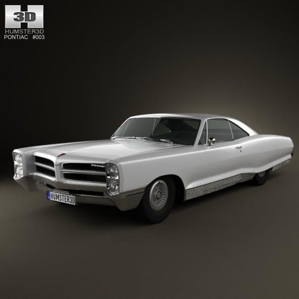 Pontiac Bonneville Hardtop 2-door 1966 - 3DOcean Item for Sale