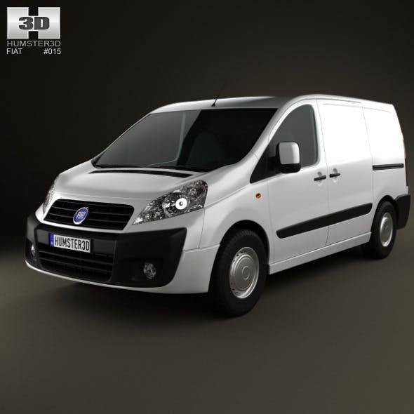 Fiat Scudo Furgon ShortWheelbase 4-door 2011 - 3DOcean Item for Sale
