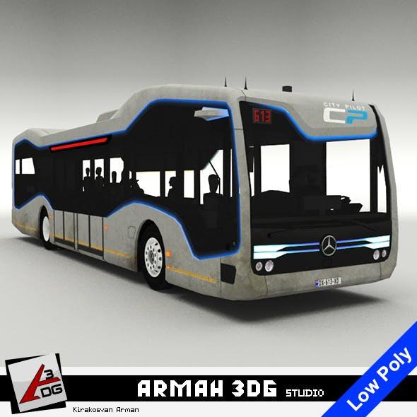 Mercedes-Benz Future Bus - 3DOcean Item for Sale
