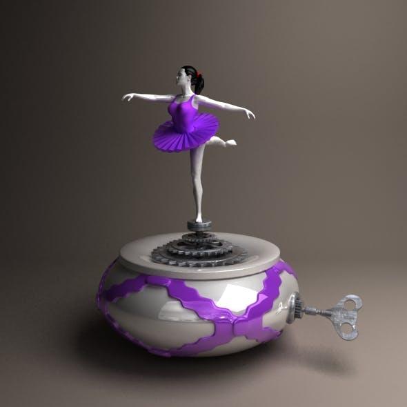 ballerina - 3DOcean Item for Sale