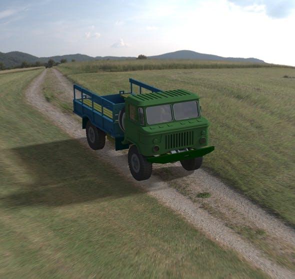Gaz-66 - 3DOcean Item for Sale