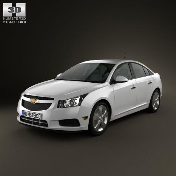 Chevrolet Cruze 2011 - 3DOcean Item for Sale