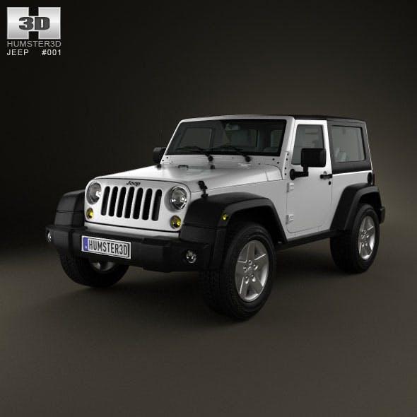 Jeep Wrangler Rubicon Hardtop 2010 - 3DOcean Item for Sale