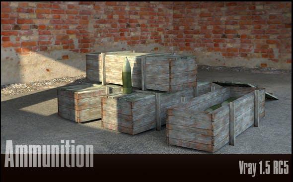 Ammunition - 3DOcean Item for Sale