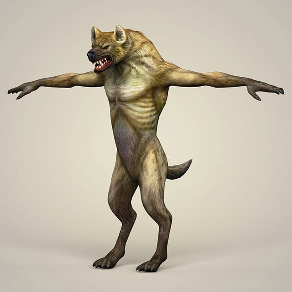 Game Ready Fantasy WereWolf
