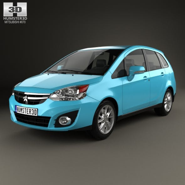 Mitsubishi Colt Plus (TW) 2013 - 3DOcean Item for Sale