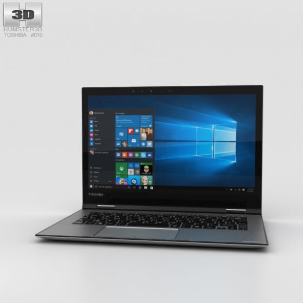 Toshiba Satellite Radius 12 - 3DOcean Item for Sale