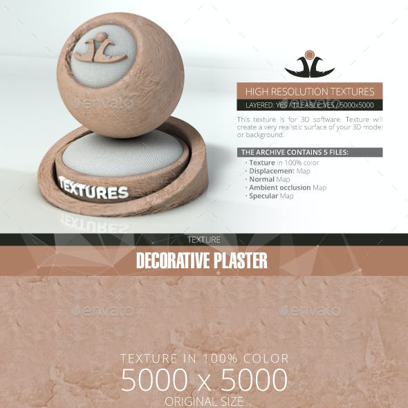 Decorative plaster 4