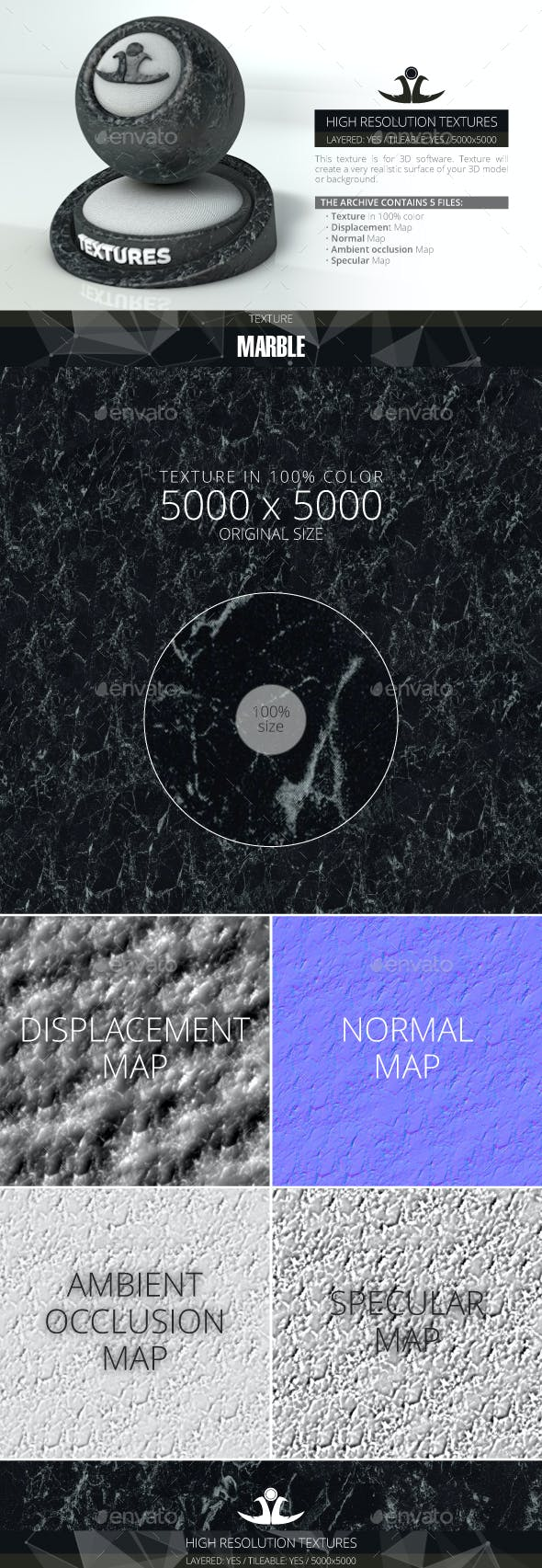 Marble 2 - 3DOcean Item for Sale