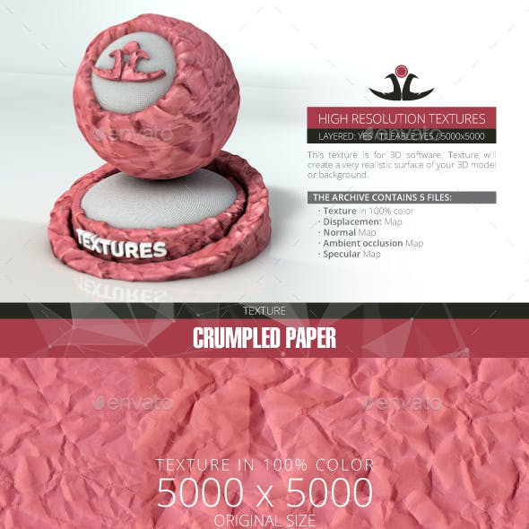 Crumpled Paper 4
