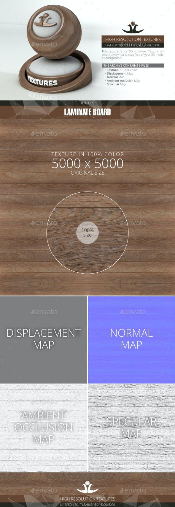 Laminate Board 3 - 3DOcean Item for Sale
