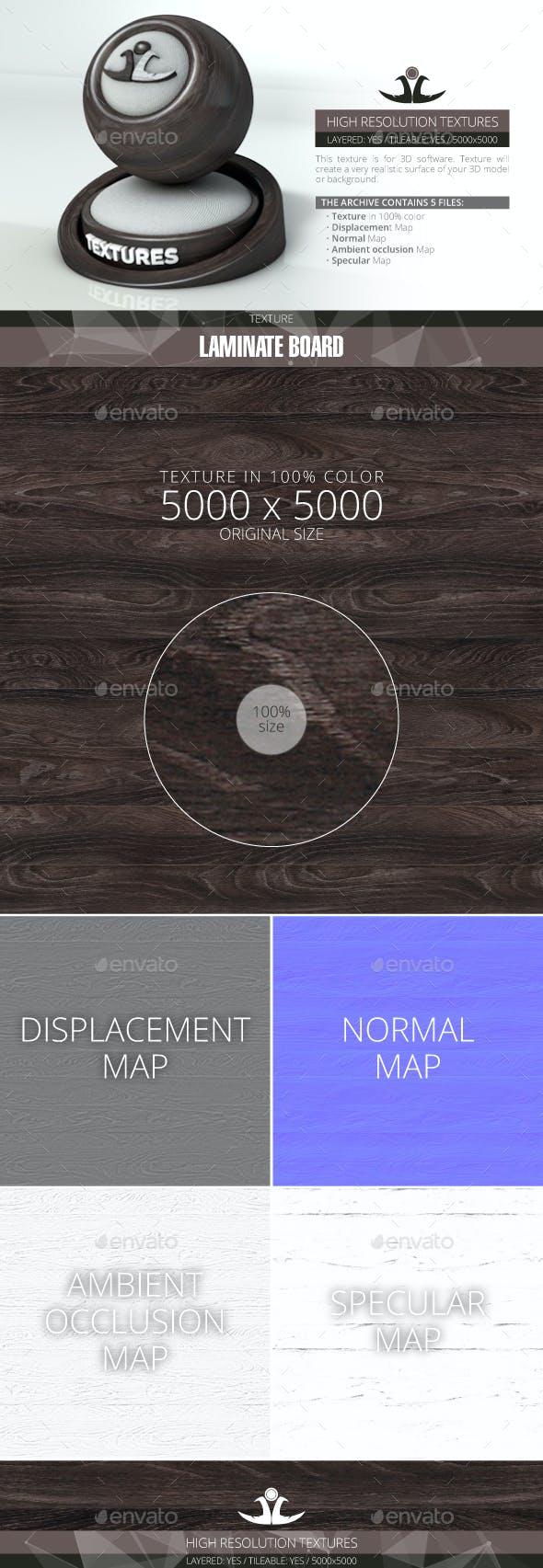 Laminate Board 8 - 3DOcean Item for Sale