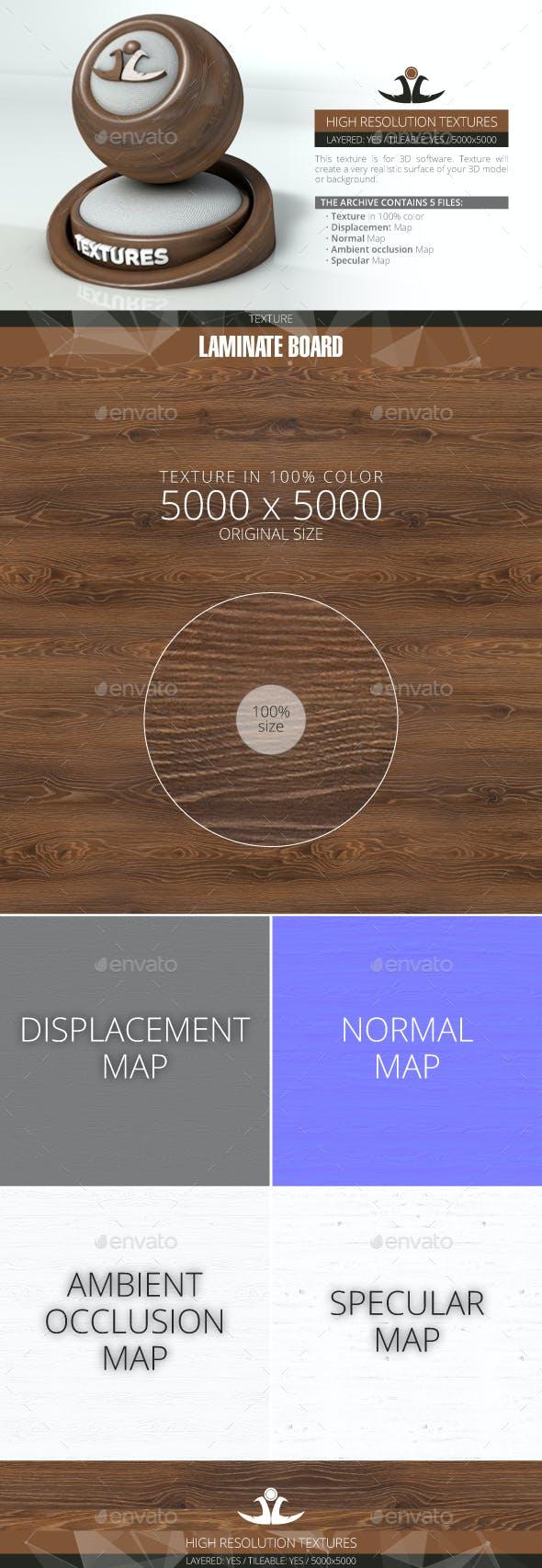 Laminate Board 10 - 3DOcean Item for Sale