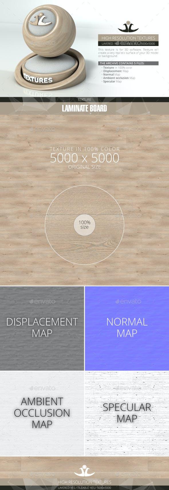 Laminate Board 15 - 3DOcean Item for Sale