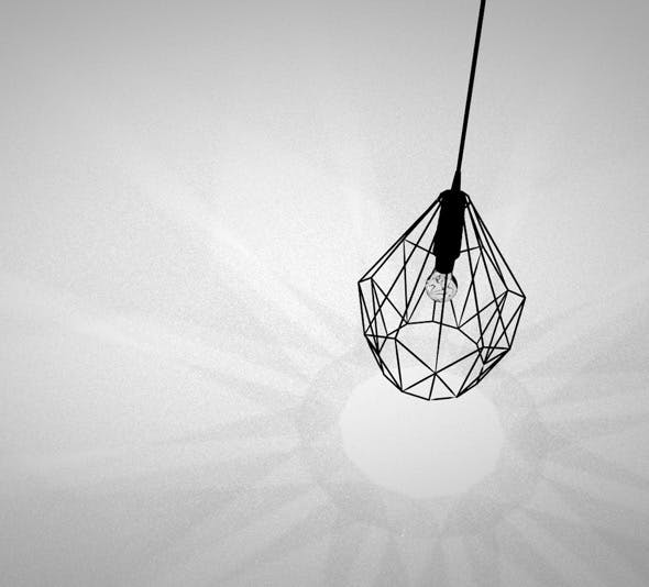 pendant lamp - 3DOcean Item for Sale