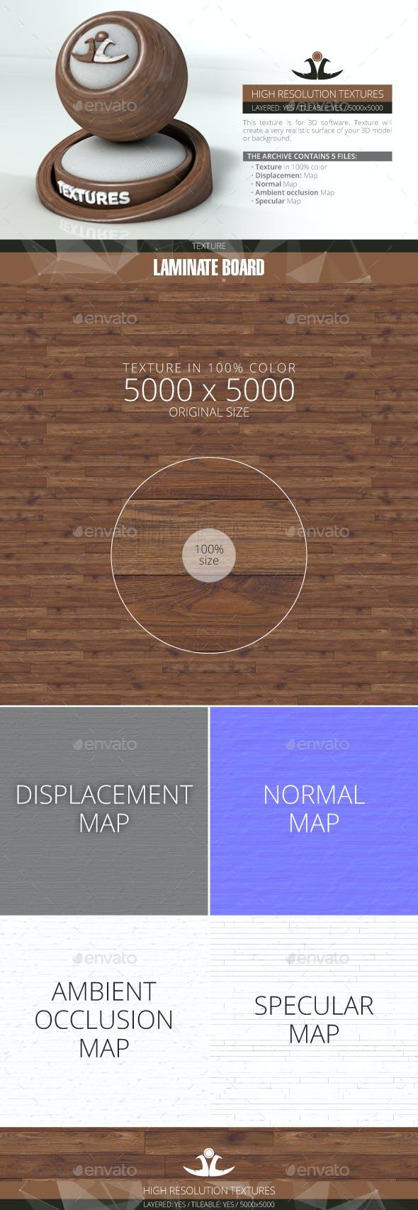 Laminate Board 24 - 3DOcean Item for Sale