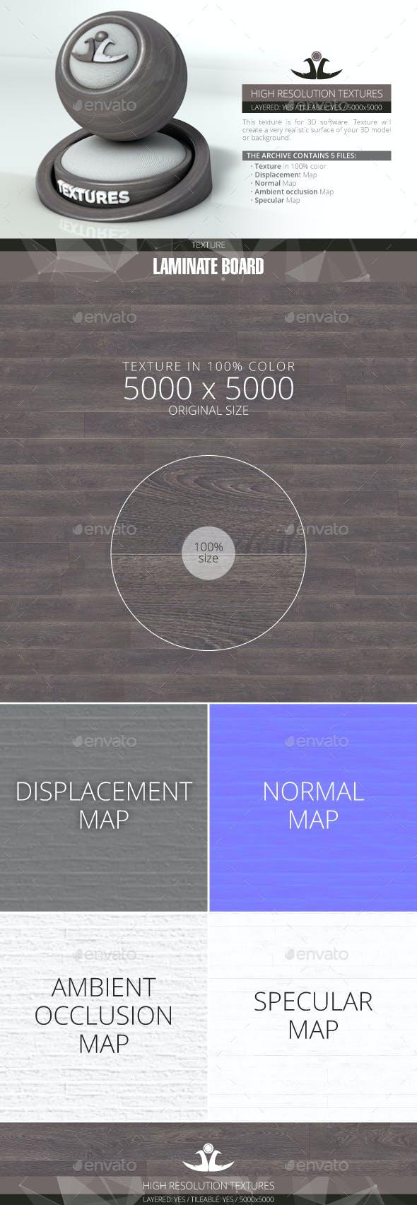 Laminate Board 37 - 3DOcean Item for Sale