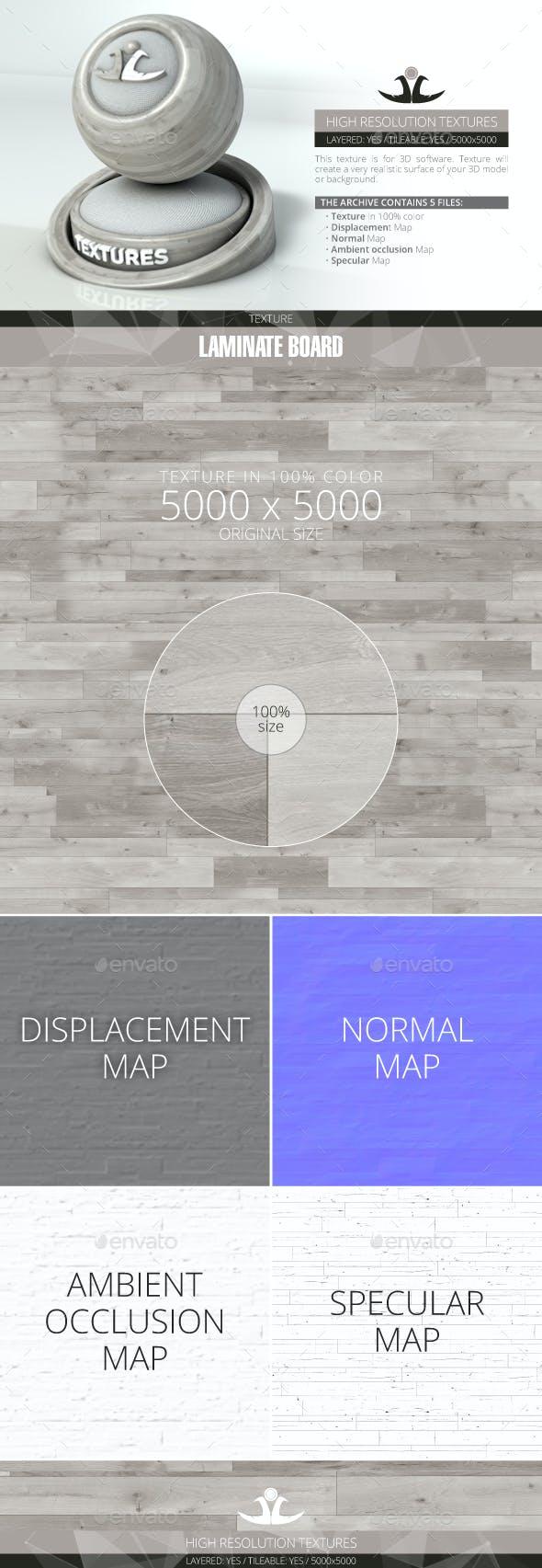 Laminate Board 46 - 3DOcean Item for Sale