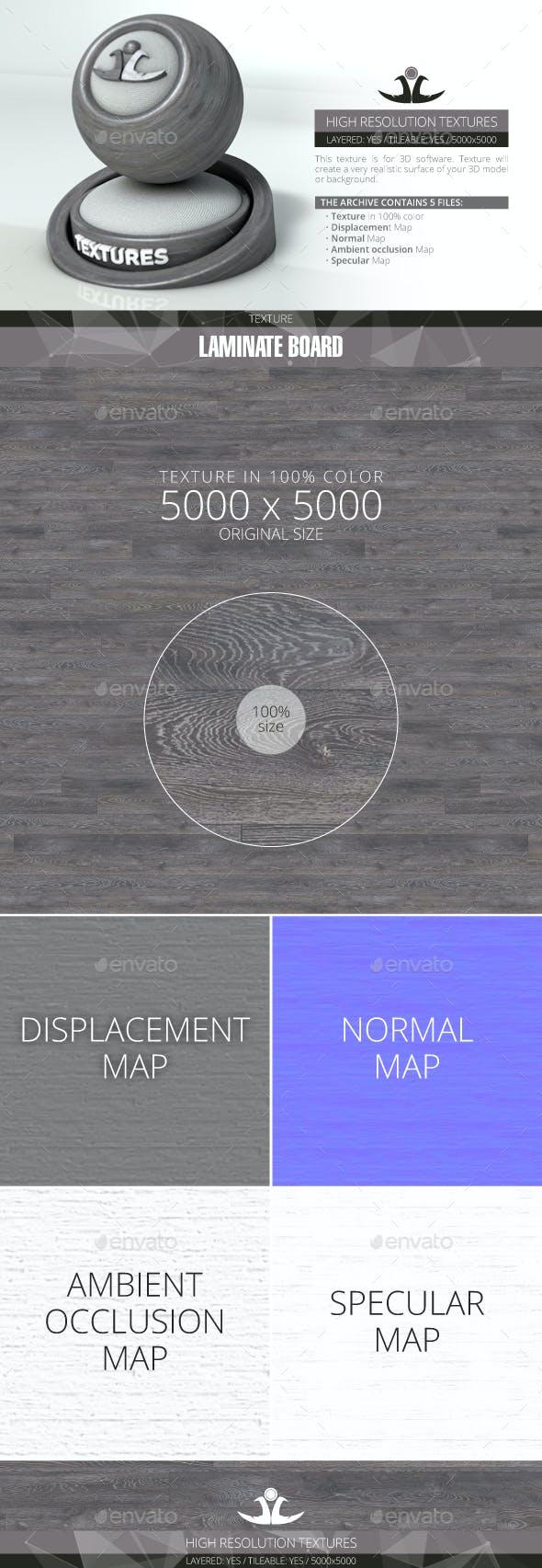 Laminate Board 50 - 3DOcean Item for Sale