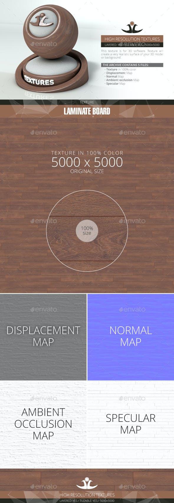 Laminate Board 58 - 3DOcean Item for Sale