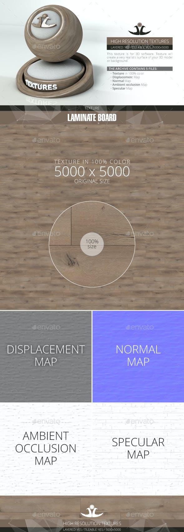 Laminate Board 69 - 3DOcean Item for Sale